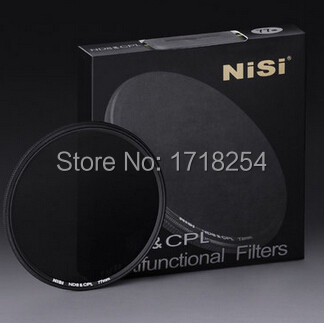 Original NiSi 52mm Combination ND8 & CPL 52 mm Ultra Thin Lens ND Filter Circular Polarizer CPL+ND8 Two-in-One цена
