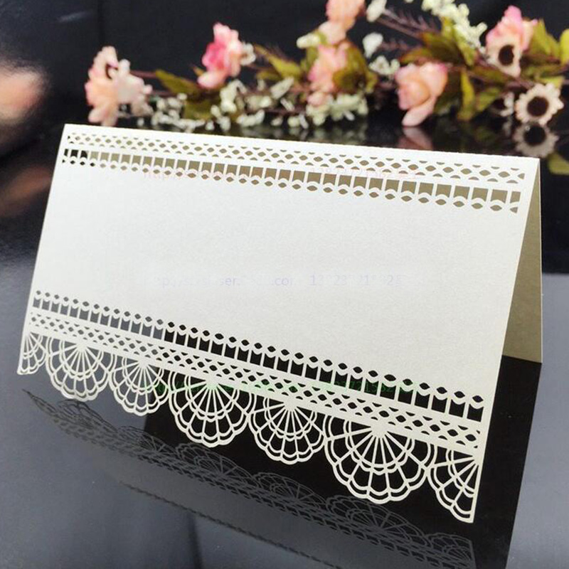 100X White Wedding Card Place Cards Birthday Party Table Centerpieces Decoration Craft Guest Table Cards Festive Events Supplies 2008 donruss sports legends 114 hope solo women s soccer cards rookie card