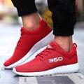 2017 новый стиль Мужчины Повседневная Обувь Большой Размер мужская Мода Обувь Весна Осень Зашнуровать Дышащей обуви c327 15
