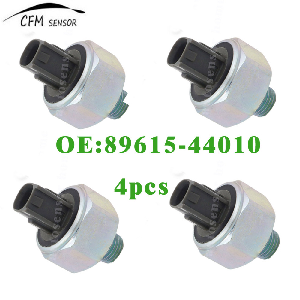 4pcs New 89615-44010 Engine Knock Control Sensor For 2002-2003 Toyota Camry 2.4L 2.0L