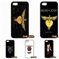 Мода Bon Jovi логотип Оригинальный Телефон Случаях Обложки Shell Для Samsung Galaxy Note 2 3 4 5 7 S S2 S3 S4 S5 MINI S6 S7 край