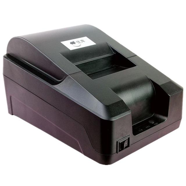 Diseño de la caja registradora Impresora térmica de Recibos USB Interfaz