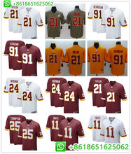 7c956c9d974 Men Washington Alex Smith Sean Taylor Ryan Kerrigan Chris Thompson Josh  Norman color rush football jerseys