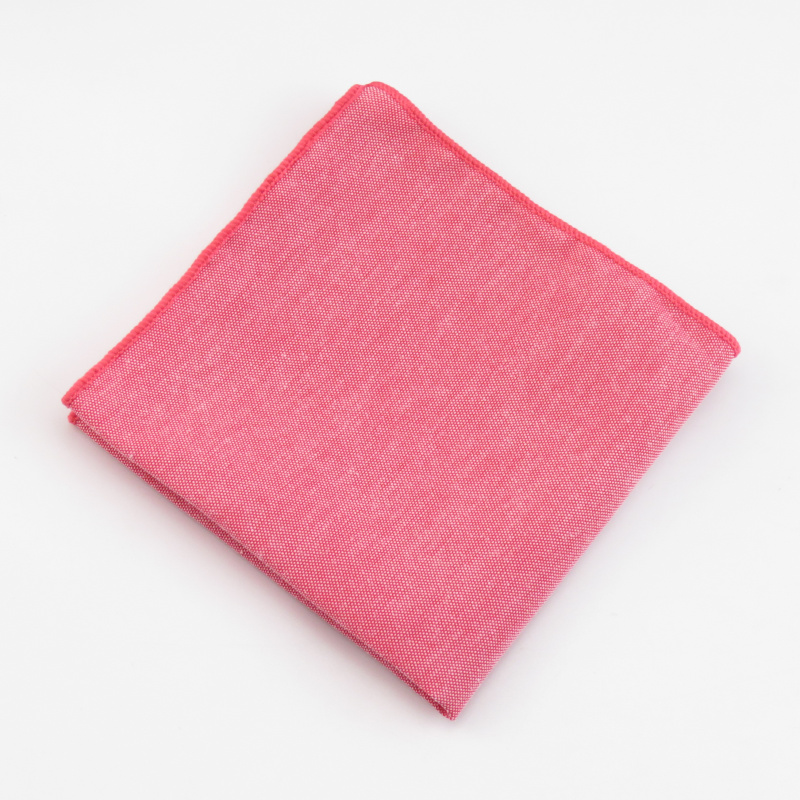 New Monochrome Oxford Small Square Towel Pocket Towel Men's Suit Accessories Solid Color Pocket Towel