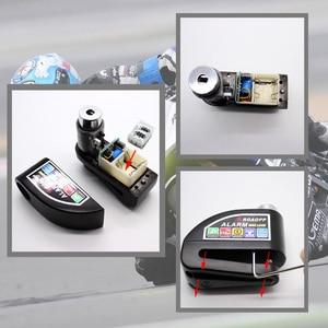 Image 4 - Замок сигнализации Nordson для мотоциклов, Противоугонная сигнализация, дисковый тормоз, охранная сирена, для Suzuki Kawasaki BMW