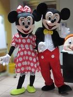Adult Minnie Mascot Costumes Cartoon Costume Fur Costume Animal Character Costume