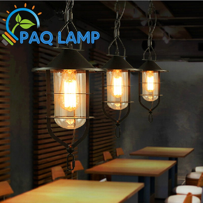 classical lamp vintage pendant light black metal and glass lamp   Restaurant bar shop  light fiture neon sign for donuts bar cakes cave real glass tube beer pub restaurant signboard store display shop light signs 17 14