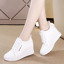 Women Shoes 2018 New Autumn Waterproof Wedges Woman Casual S