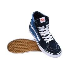 Original Vans Classic Unisex Skateboarding Shoes SK8-Hi Sports Shoes Sneakers free shipping