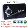 car accessory K6000 Car Camera Video Recorder HD G-sensor night vision 120 degree wide vierwing angle motion detection