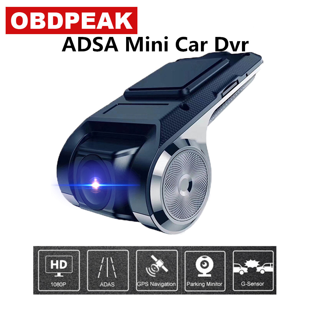 Smart ADAS Mini Car DVR camera FHD 1080p Dash Cam 170 wide angle for Android Multimedia player Auto Digital Video Recorder DVRsSmart ADAS Mini Car DVR camera FHD 1080p Dash Cam 170 wide angle for Android Multimedia player Auto Digital Video Recorder DVRs