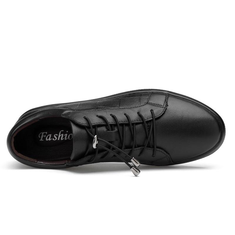 Mode Casual De Mycoron Calzado Marque automne Hommes up Respirant Nouveau Confortables Printemps Lace Chaussures Hombre Luxe Noir 2018 HE92ID