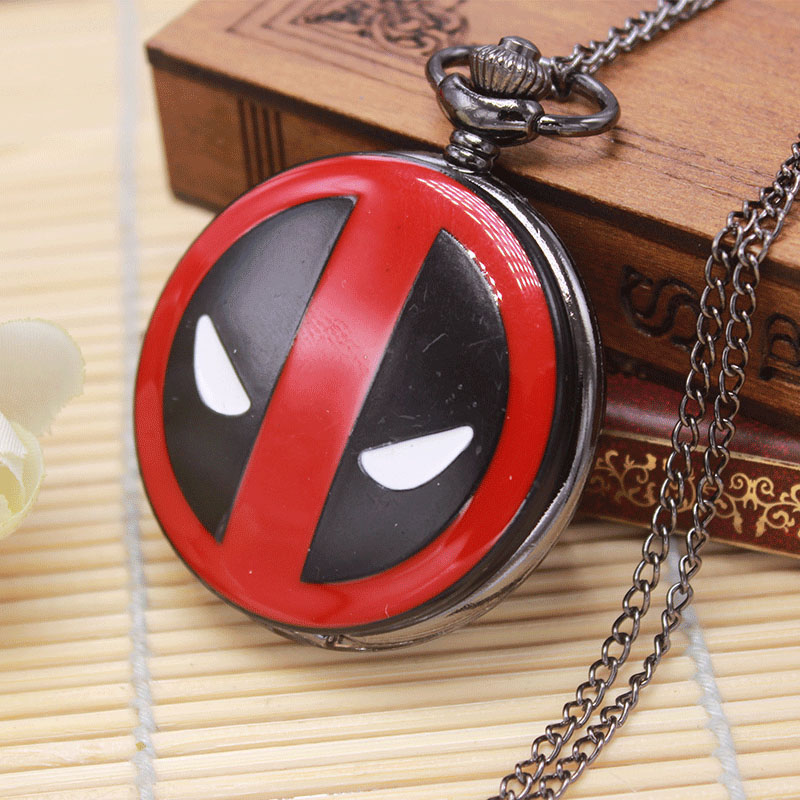 Retro Fullmetal Alchemist The Nightmare Before Christmas Doctor Who Batman Deadpool Quartz Pocket Watch Necklace Chain Cool Gift цена и фото
