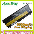 "Apexway 9 cell battery for Lenovo ThinkPad Edge 14"" T510 T510i T520 W510 W520 T410 T410i T420 42T4708 42T4709 42T4710 51J0499"