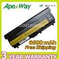 """Apexway bateria de 9 células para Lenovo ThinkPad Edge 14 """"T410 T410i T420 T510 T510i T520 W510 W520 42T4708 42T4709 42T4710 51J0499"""