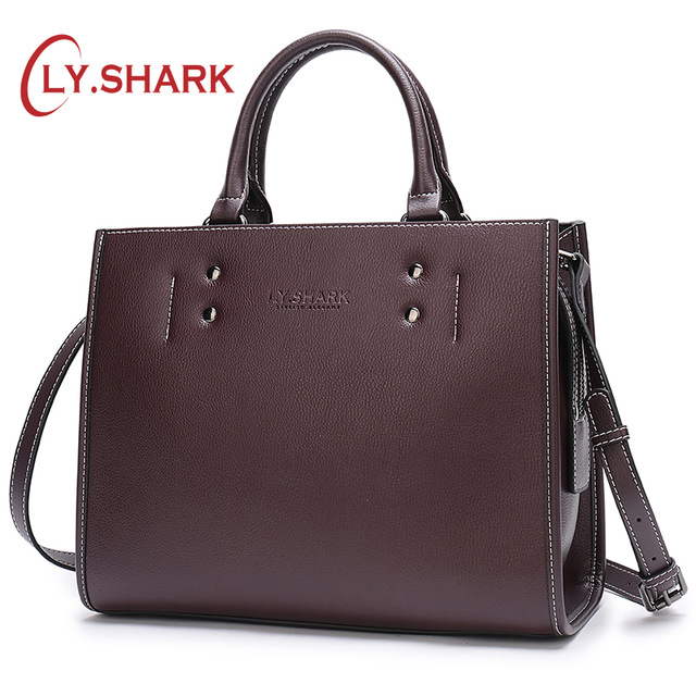 LY.SHARK Women Messenger Bag Ladies' Genuine Leather Handbag Crossbody Bags For Women Green Shoulder Bag Female Fashion Tote Bag 2018 fashion female shoulder bag canvas women handbag vintage messenger bag crossbody bags leisure tote women bag