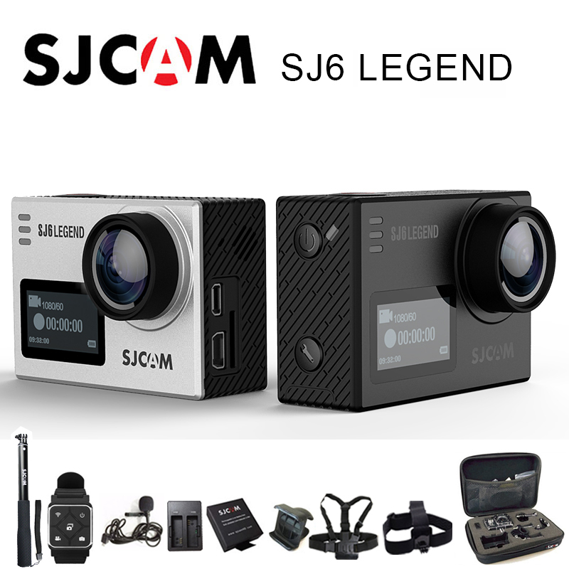 Original SJCAM SJ6 Legend Sports Action Camera 4K Wifi Sport DV Notavek 96660 Ultra HD Waterproof 2.0 Inch Touch Screen SJ Cam экшн камера sjcam sj6 legend uhd 4k wifi розовый [sj6legend rosegold]