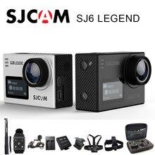 Оригинальный SJCAM SJ6 Легенда Спорт Действие Камера 4 К Wi-Fi Спорт DV notavek 96660 Ultra HD Водонепроницаемый 2.0 дюймов Сенсорный экран SJ Cam
