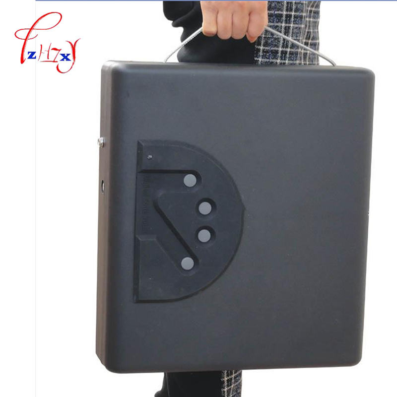 MD550 Fingerprint safe box four panel A4 file box storage box laptop computer mobile phone