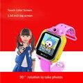 Android smart watch g75 com rotação câmera de 3g crianças smart watch