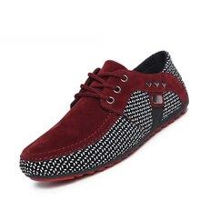 Nouveau 2017 Vente Chaude Printemps Automne Mode Hommes Chaussures Hommes Appartements Casual Chaussures En Daim Confortable Respirant Appartements Conduite Mocassins