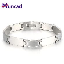 Hot 0.9CM Wide Stainless Steel Bracelets Wristlet Toggle-Clasps Jewelry Bangle Band Party Accessories For Men And Women