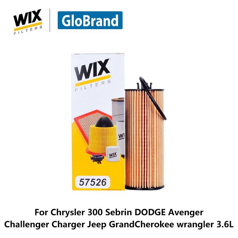 Wix Car Oil Filter 57526 For Chrysler 300 Sebrin Dodge