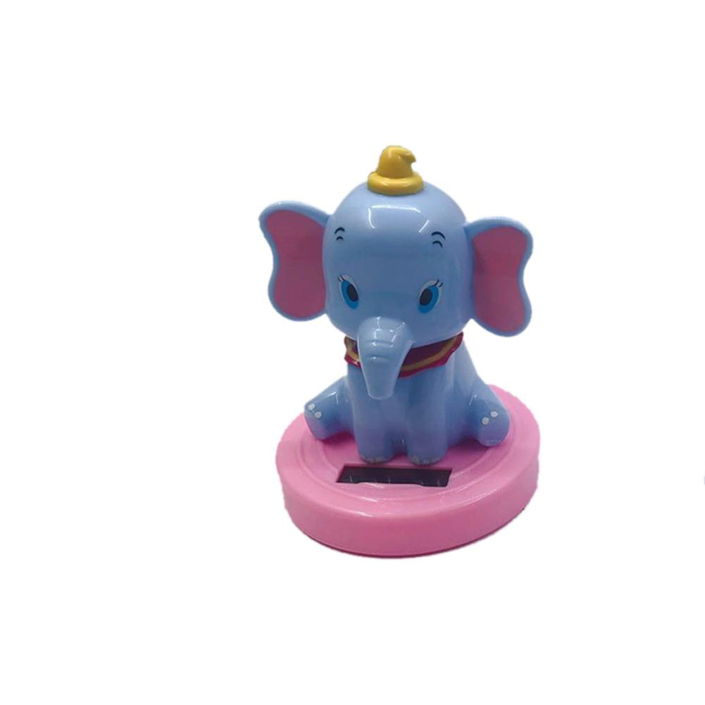 Image 3 - Car Decoration Pendant Araba Aksesuar Cute Cartoon Flying Elephant Solar Powered Dancing Animal Swinging Car Accessories-in Ornaments from Automobiles & Motorcycles
