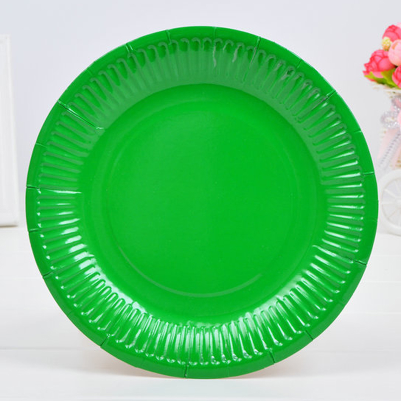 10pcs Disposable Paper Plates Birthday Wedding Halloween Party Tableware Candy Color Paper Plates Baby Shower natal Party Decor-in Disposable Party ...  sc 1 st  AliExpress.com & 10pcs Disposable Paper Plates Birthday Wedding Halloween Party ...