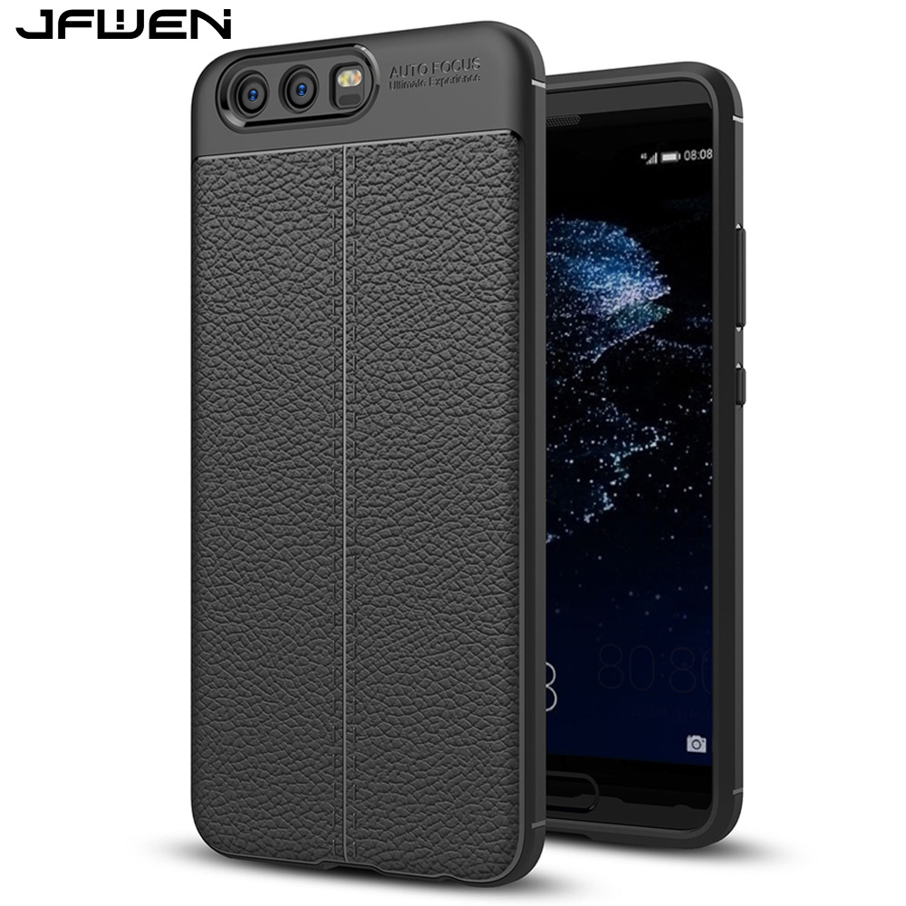 JFWEN For Cover Huawei P10 Case Silicon Soft TPU