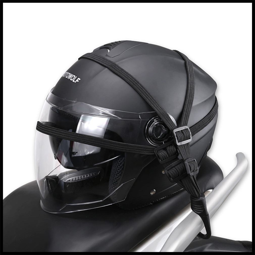 Motorcycle Hooks Mesh Organizer Holder Luggage Helmet Net for Ducati Scrambler 748 900SS 916 Diavel CaRbon XDiavel S