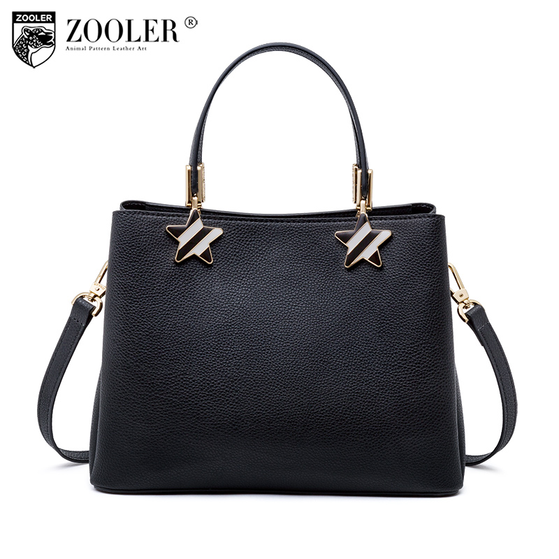 NEW ZOOLER woman leather bags stars pattern luxury handbags bags woman famous brand designer shoulder bag bolsa feminina P113 new zooler genuine leather bags for women luxury handbags bags woman famous brand designer shoulder bag bolsa feminina u 505