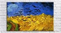 Ван Гог известные картины фотографии птицы пейзаж картины на холсте для гостиной украшение картины на холсте