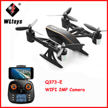WLtoys Q373-E High Speed Headless Mode Plane Helicopter 2.4G 6-Axis RC Radio Remoto Contral 4 Drive Motor 4WD Mini Air Toy Gift wltoys v915 4 ch 2 4ghz radio control r c helicopter toy yellow 4 x aa