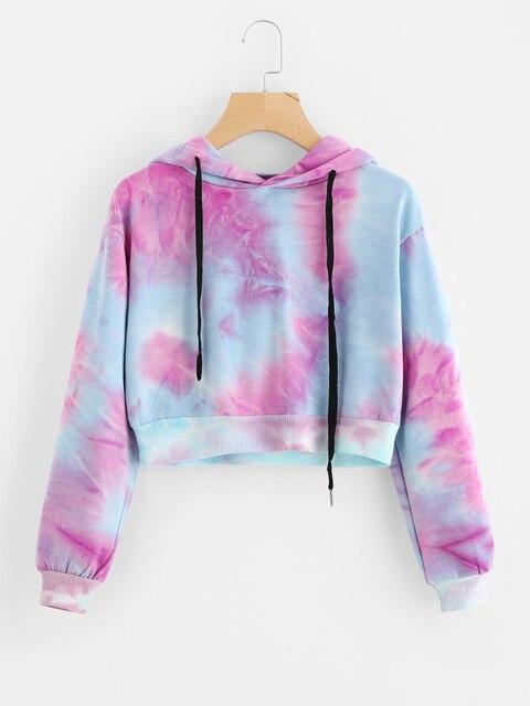 BAICLOTHING trend women gothic harajuku sweatshirts ladies blackpink clothing