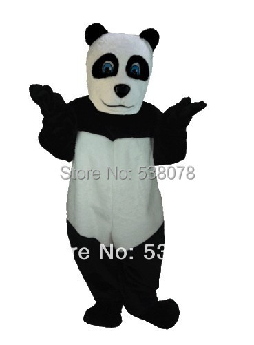 Good Quality Cheap Price Panda Mascot Costume Adult Size Christmas Halloween Party Carnival Cosply Character Outfit Suit SW1066