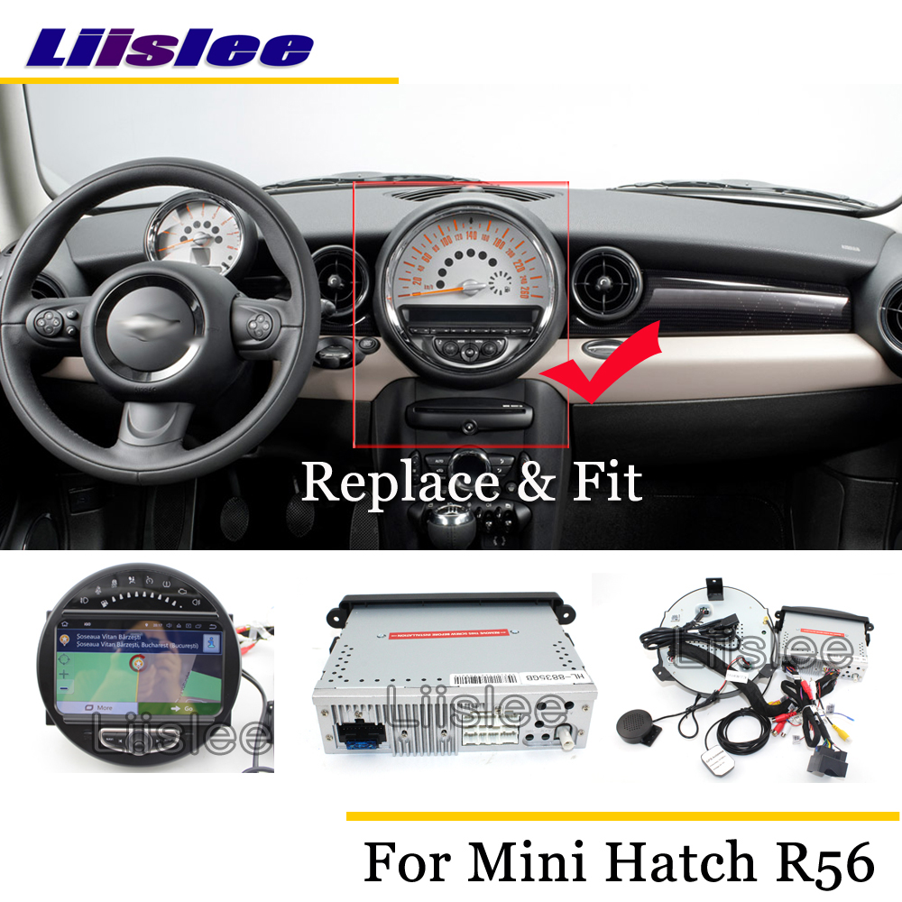 Liislee Car Android Multimedia For Mini Hatch / Hardtop R56 2006~2013 Stereo Radio Audio Carplay GPS Navi Map Navigation System