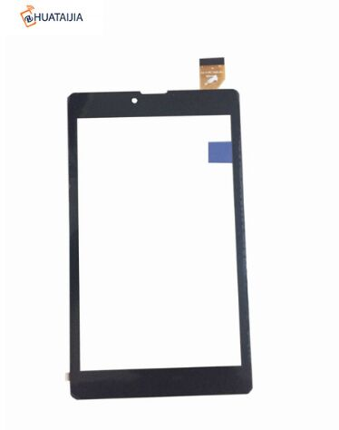 New For 7 inch Tablet Capacitive touch screen panel Digitizer Glass Sensor  Digma Plane 7513S 3G PS7122PG Free Shipping rygou smart cover for apple ipad air 2 ipad 6 pu leather magnetic front case hard back cover for ipad air 2 case tablet c