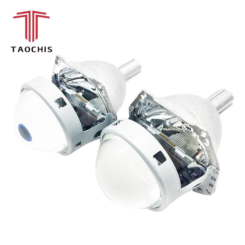 TAOCHIS Car styling Auto head light 3.0 inch Bi xenon Projector Lens HELLA H7 Lossless Non-destructive H1 H3 H4 H7 H11