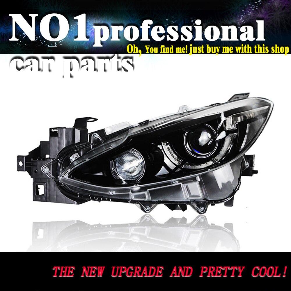 July King LED Light Guide Daytime Running Light DRL for Mazda 3 ...