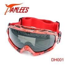 Hot Sales Panlees UV400 Dual Lens Anti-fog Sports Goggles Snowboard Goggles Snow Glasses Snow Goggles For Men Free Shipping
