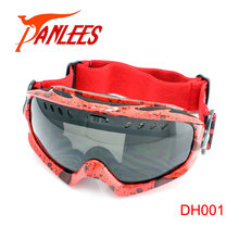 Hot Sales Panlees UV400 Dual Lens Anti-fog Sports Goggles Snowboard Goggles Snow Glasses Snow Goggles For Men Free Shipping