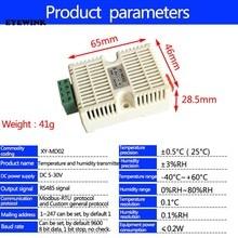 Temperatura & umidade transmissor sht20 sensor de monitoramento de alta precisão modbus rs485 dec12 dropship
