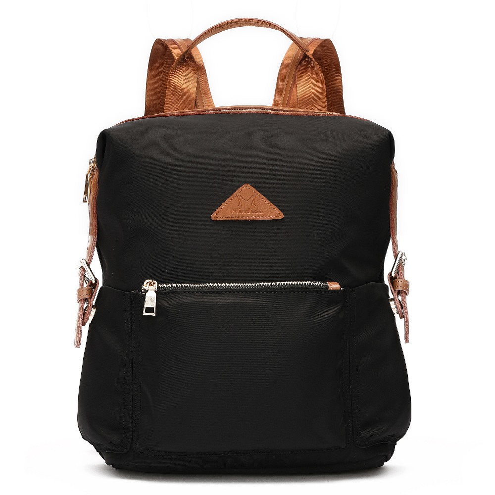 Женский Противоугонный водонепроницаемый нейлоновый рюкзак большой кожаный рюкзак кошелек школьный рюкзак дорожная сумка лёгкие рюкзаки ...
