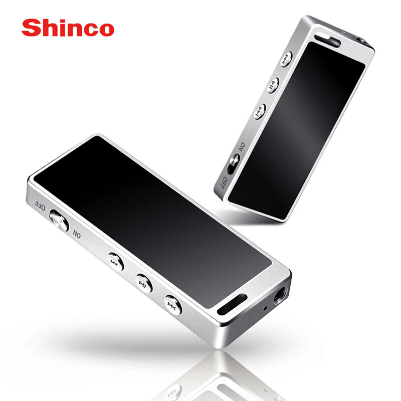 Shinco F1 8gb Voice Recorder Dictaphone Alloy HIFI Audio Player Mini Professional Digital Sound Activated Recorder