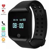 Fashion Men Digital Watches Sport Smartband Blood Pressure Watch Pulse Heart Rate Fitness Tracker Smart Bracelet Waterproof