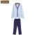Qianxiu marca homens pijama de moda primavera de algodão de manga comprida Pijamas Pijamas de salão Sleepwear roupa Top e calças