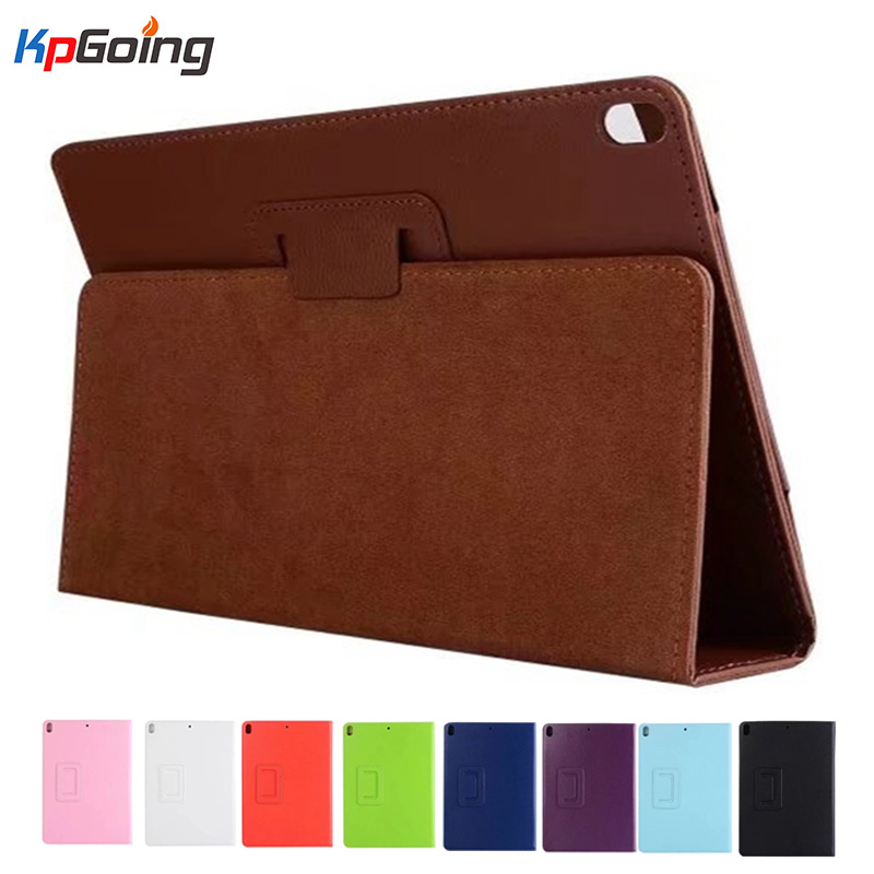 KpGoing Case For iPad Pro 10.5 litchi pu leather stand kickstand folio case for Apple New Ipad pro 10.5 2017 tablet case cover