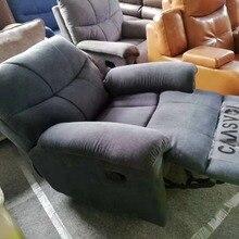 Тканевый откидной диван расслабляющий массажный диван современный дизайн для офиса или гостиной мебель