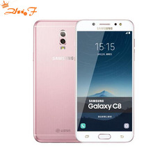 Samsung Galaxy C8 (SM-C7100) Super AMOLED FHD 3G RAM 32G ROM 16MP Front Camera dual sim Octa Core Lte 4G Mobile Phone